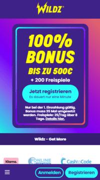 Mobile Wildz Casino